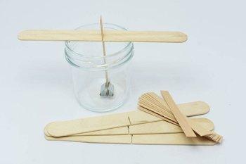 100x Knot drewniany do wosku stablizator gratis 8