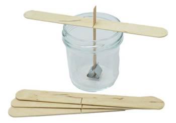5 x Knot drewniany do wosku stablizator gratis 8cm