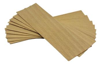 Knot drewniany do wosku 5 szt dłu. 8cm szer. 3cm