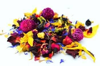 Kwiatowy mix suszone liście 10g do herbat/czekolad