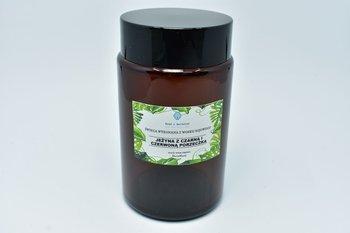 Świeca z wosku sojowego jeżyna porzeczka 240ml