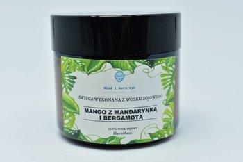 Świeca z wosku sojowego mango z mandarynką 60ml