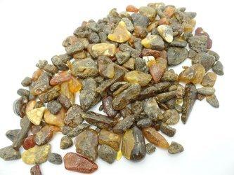 bursztyn bałtycki czarny 50 g naturalny czysty