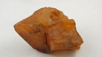 bursztyn bałtycki żółty duży naturalny surowy 100,7 g