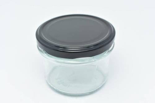 Słoik przezroczysty do świec zakręcany 235 ml 1 szt.