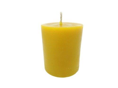 Świeca z wosku pszczelego mała