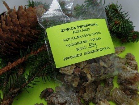 Żywica świerkowa naturalna zbierana ręcznie 30 g